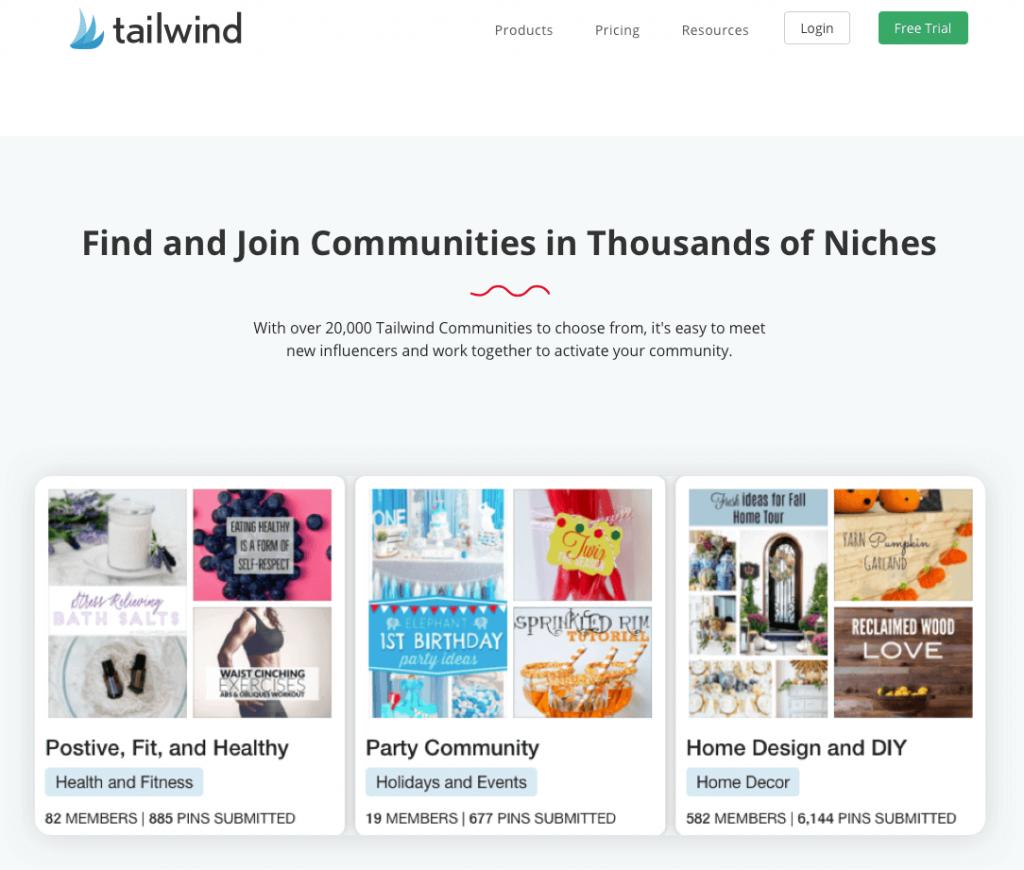 Tailwind Pinterest strategy