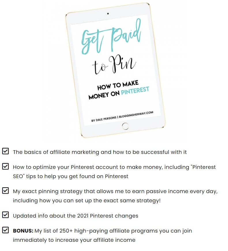 how to get paid for pinning on Pinterest